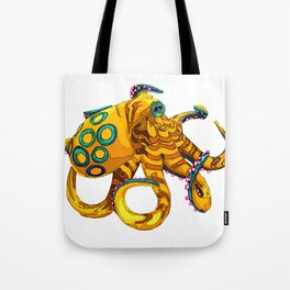 Blue-Ringed Octopus Tote Bag