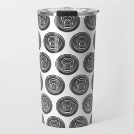Beer can seamless pattern Travel Mug