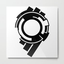 Ghost in the Shell - Symbol Metal Print