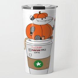 Possum Spice Latte Travel Mug