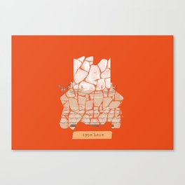 Type Here Canvas Print