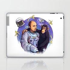 Karl Pilkington - An Idiot In Space Laptop & iPad Skin