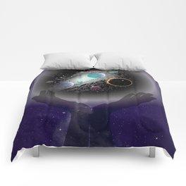 Cradled Space  Comforters