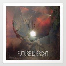 Future is Bright Art Print