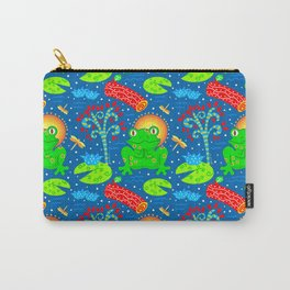 Little Happy Frog Carry-All Pouch
