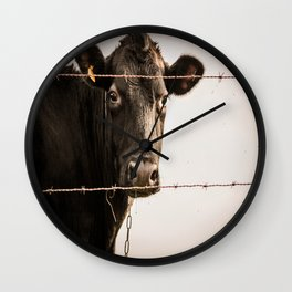 How Now, Brown Cow? Wall Clock