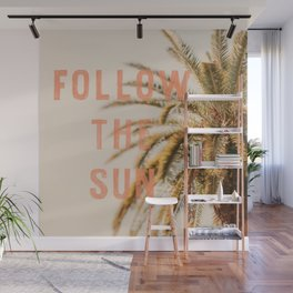 Follow the Sun Wall Mural