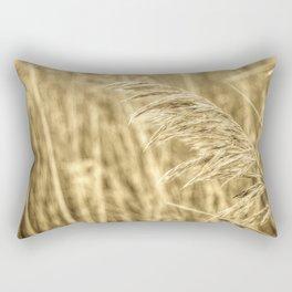 Common reed Rectangular Pillow