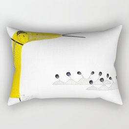A single rose can be my garden. Rectangular Pillow