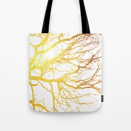 Gold Branches Tote Bag