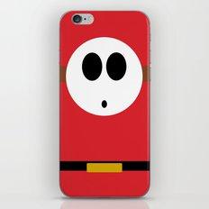 Minimalist Shy Guy iPhone & iPod Skin