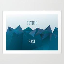 Past and Future Art Print