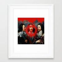 vendetta Framed Art Prints featuring VENDETTA by DIVIDUS