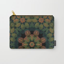 A Vintage Look Carry-All Pouch