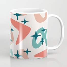 Colorful Retro Mid Century Modern Abstract Composition 689 Coffee Mug