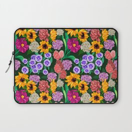 Spring Florals Pattern Laptop Sleeve