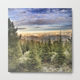 """Wildderness"". Adventure at the mountains... Metal Print"