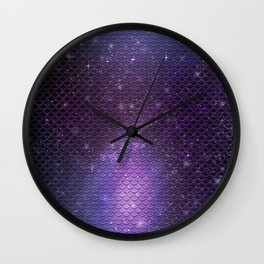 Purple shine Wall Clock