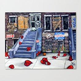 Broken Blvd Canvas Print
