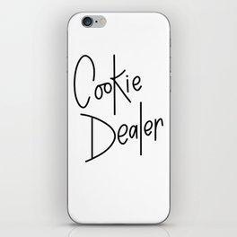 Cookie Dealer iPhone Skin