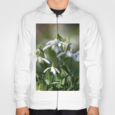 Floral Snowdrops! Hoody