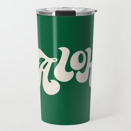 Aloha green Travel Mug