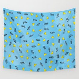 WHAT THE DUCK Wall Tapestry
