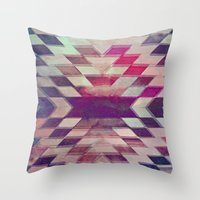 prism Throw Pillows featuring Prism by Ashley Keeley