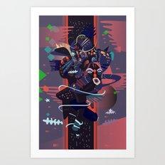 hideandseek Art Print