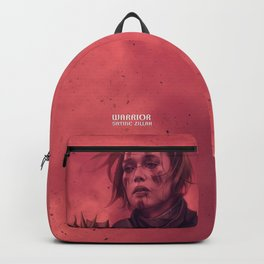 War is bloody hell! Backpack
