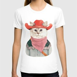 Rodeo Cat T-shirt