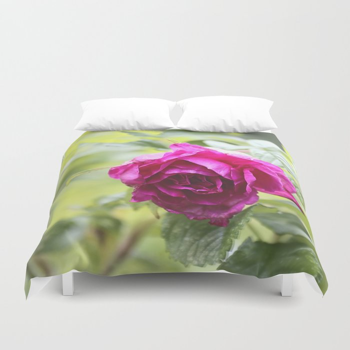 Wild Rose Duvet Cover