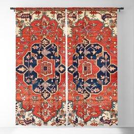 Heriz Bilverdi Azerbaijan Northwest Persian Rug Print Blackout Curtain