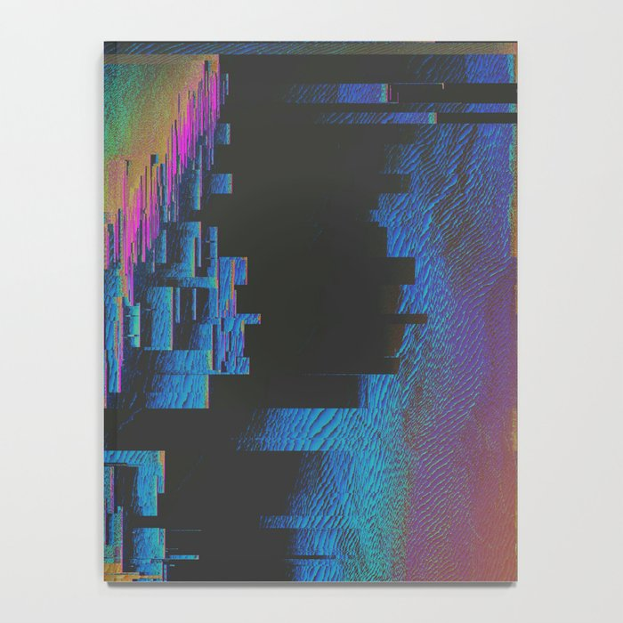 Bismuth Crystal Notebook