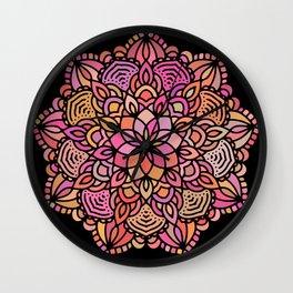 Mandala 10 Wall Clock