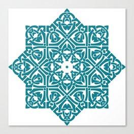 Celtic Knotwork Pattern Canvas Print