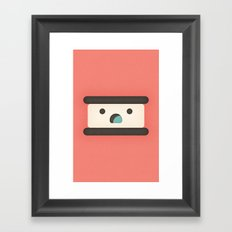 Ice Cream Sandwich Framed Art Print