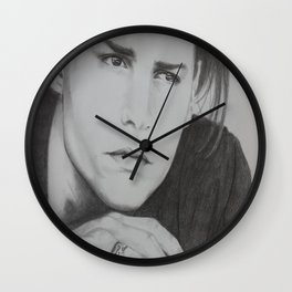 Johnny Depp Wall Clock