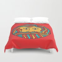 circle Duvet Covers featuring Circle by Brad Hansen