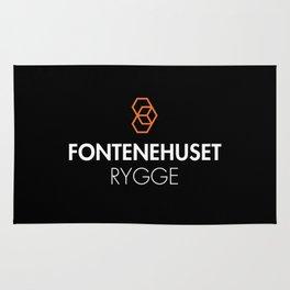 FHR Logo (Svart) Rug
