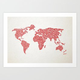 Love, You Are My World Art Print