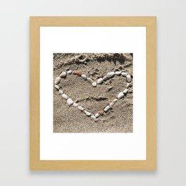 She sells sea shells Framed Art Print