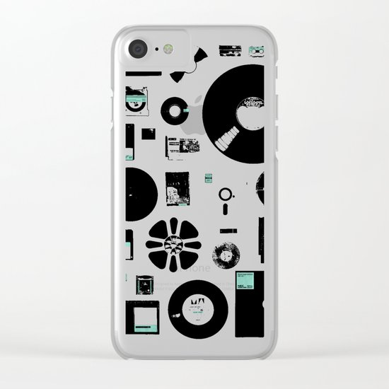Data Clear iPhone Case