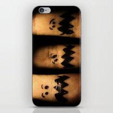 Scared Fingers iPhone & iPod Skin