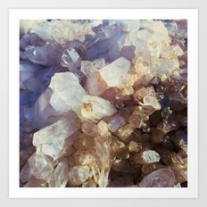 Crystal Magic Art Print
