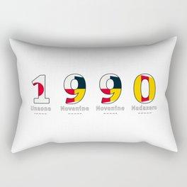 1990 - NAVY - My Year of Birth Rectangular Pillow