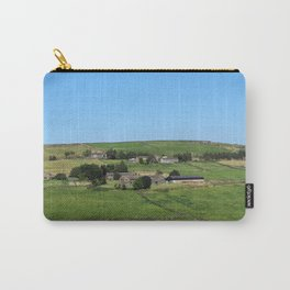 yorkshire dales panoramic scenery - colden Carry-All Pouch