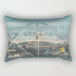Layers of London 1 Rectangular Pillow
