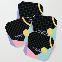 Memphis Pattern 7 - 80s - 90s - Retro Coaster