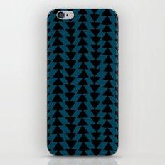 Blue Arrows iPhone Skin